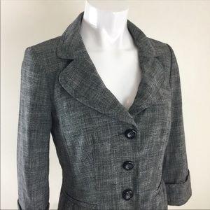 Halogen Jackets & Coats - Halogen Nordstrom 3/4 Sleeve Womens Blazer Sz 8